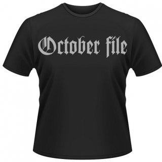 OCTOBER FILE Why...? (black), Tシャツ