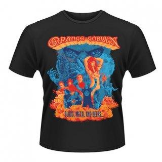 ORANGE GOBLIN Blood metal and beers, Tシャツ
