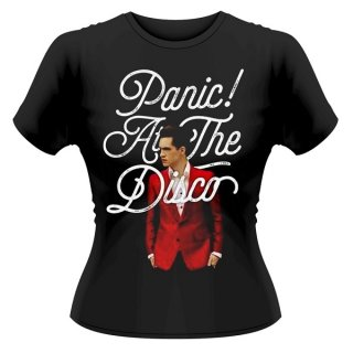 PANIC! AT THE DISCO Brendon Urie, レディースTシャツ