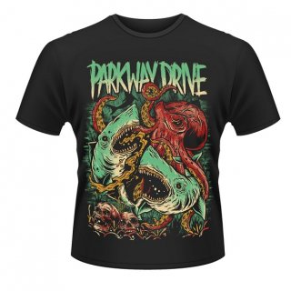 PARKWAY DRIVE Sharktapuss, Tシャツ