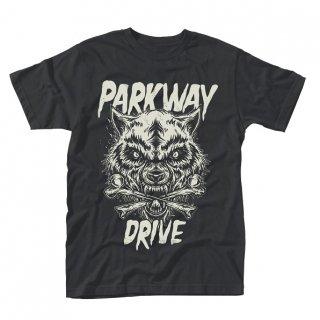 PARKWAY DRIVE Wolf & bones, Tシャツ