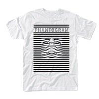 PHANTOGRAM Striped face, Tシャツ
