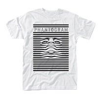 PHANTOGRAM Striped Face, Tシャツ