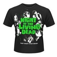 NIGHT OF THE LIVING DEAD Night of the living dead, Tシャツ