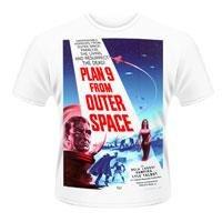 PLAN 9 FROM OUTER SPACE Plan 9 from outer space (poster), Tシャツ