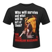 THE TEXAS CHAINSAW MASSACRE The texas chainsaw massacre - poster, Tシャツ