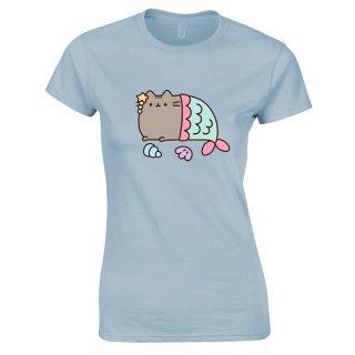 PUSHEEN Mercat, レディースTシャツ