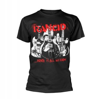 RANCID Honor Is All We Know, Tシャツ