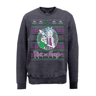 RICK AND MORTY Christmas Portal, スウェットシャツ