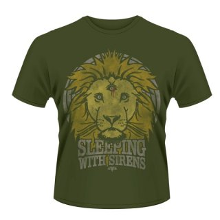 SLEEPING WITH SIRENS Lion crest, Tシャツ