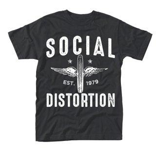 SOCIAL DISTORTION Winged wheel, Tシャツ