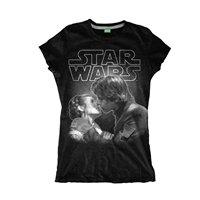 STAR WARS The kiss, レディースTシャツ