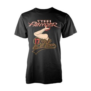 STEEL PANTHER 17 girls, Tシャツ