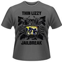 THIN LIZZY Jailbreak (grey), Tシャツ