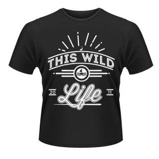THIS WILD LIFE Logo, Tシャツ