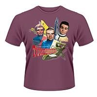 THUNDERBIRDS Tracy brothers, Tシャツ