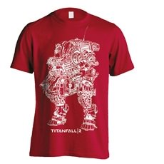 TITANFALL 2 Titan Scortch Line Art, Tシャツ