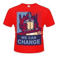 TRANSFORMERS We can change, Tシャツ
