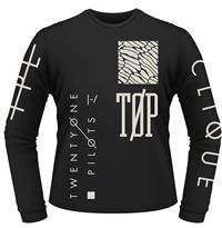 TWENTY ONE PILOTS Emblem, ロングTシャツ