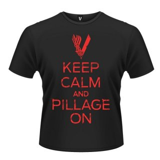VIKINGS Keep calm, Tシャツ