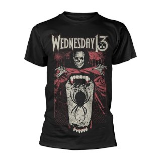 WEDNESDAY 13 Spider Shovel, Tシャツ