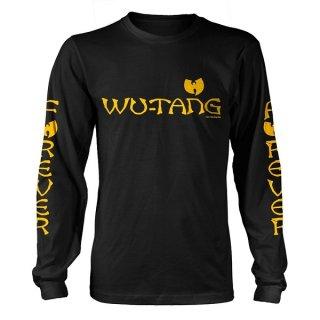 WU-TANG CLAN Logo, ロングTシャツ