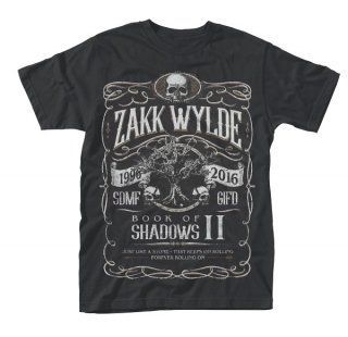 ZAKK WYLDE Book of shadows ii, Tシャツ