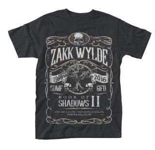 ZAKK WYLDE Book Of Shadows ii, Tシャツ