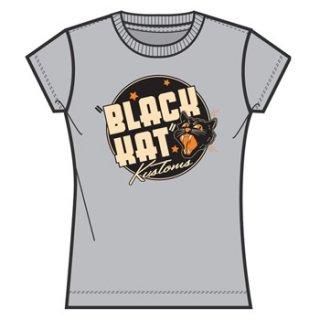 BLACK KAT KUSTOMS Black Kat Show, レディースTシャツ