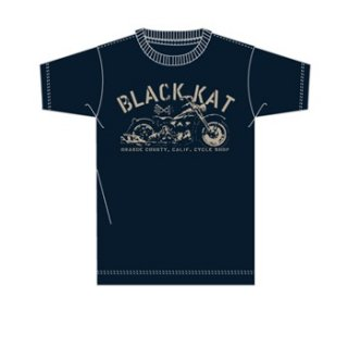 BLACK KAT KUSTOMS Knuckle Head, Tシャツ