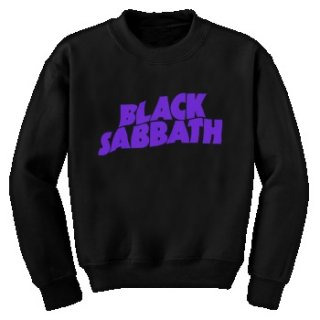 BLACK SABBATH Logo, スウェットシャツ