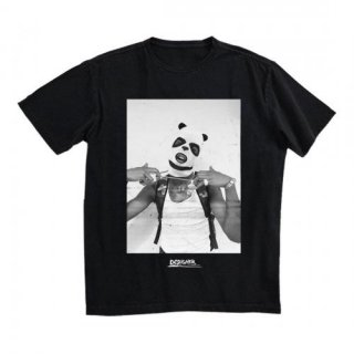 DESIIGNER Panda Mask Photo, Tシャツ
