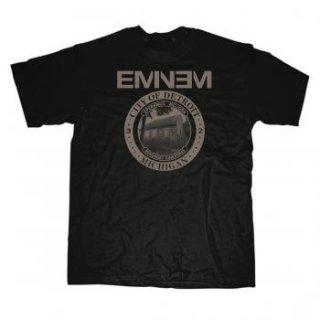 EMINEM Mmlp2 Detroit Seal, Tシャツ