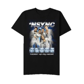 NSYNC Tearin Up My Heart, Tシャツ