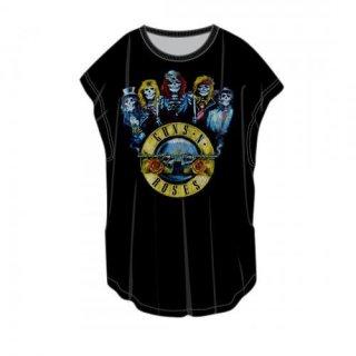 GUNS N' ROSES Band Bullet, Tシャツ