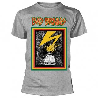 BAD BRAINS Bad Brains Grey, Tシャツ