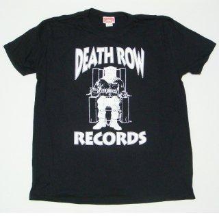 DEATH ROW RECORDS Logo Black, Tシャツ