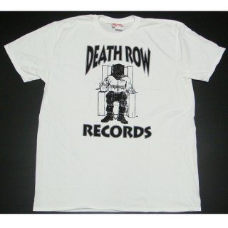DEATH ROW RECORDS Logo White, Tシャツ