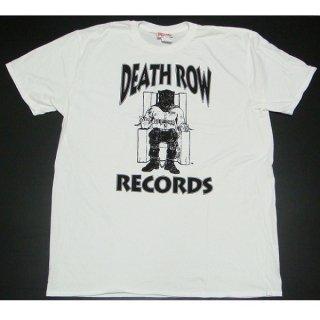 DEATH ROW RECORDS Logo White, Tシャツ