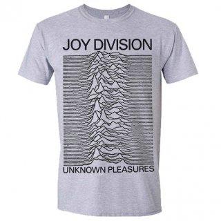 JOY DIVISION Unknown Pleasures Grey, Tシャツ