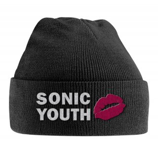 SONIC YOUTH Goo Logo Embroidered, ニットキャップ