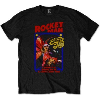 ELTON JOHN Rocketman Feather Suit, Tシャツ