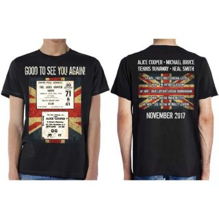 ALICE COOPER Uk Only Event, Tシャツ