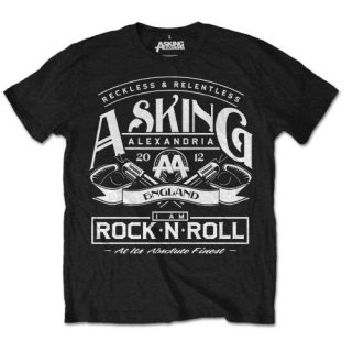 ASKING ALEXANDRIA Asking Rock N' Roll, Tシャツ<img class='new_mark_img2' src='https://img.shop-pro.jp/img/new/icons5.gif' style='border:none;display:inline;margin:0px;padding:0px;width:auto;' />