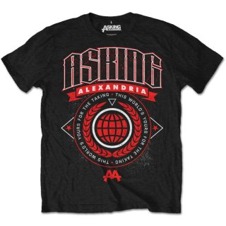ASKING ALEXANDRIA Asking This World, Tシャツ<img class='new_mark_img2' src='https://img.shop-pro.jp/img/new/icons5.gif' style='border:none;display:inline;margin:0px;padding:0px;width:auto;' />