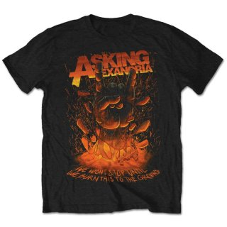ASKING ALEXANDRIA Asking Metal Hand, Tシャツ<img class='new_mark_img2' src='https://img.shop-pro.jp/img/new/icons5.gif' style='border:none;display:inline;margin:0px;padding:0px;width:auto;' />