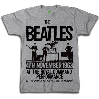 THE BEATLES rince Of Wales Theatre, Tシャツ
