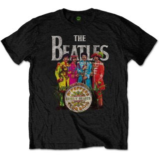 THE BEATLES Sgt Pepper, Tシャツ<img class='new_mark_img2' src='https://img.shop-pro.jp/img/new/icons5.gif' style='border:none;display:inline;margin:0px;padding:0px;width:auto;' />
