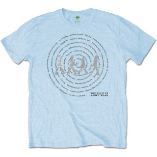 THE BEATLES Abbey Road Songs Swirl 3, Tシャツ<img class='new_mark_img2' src='https://img.shop-pro.jp/img/new/icons5.gif' style='border:none;display:inline;margin:0px;padding:0px;width:auto;' />