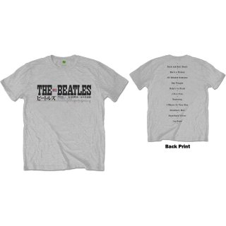 THE BEATLES Budokan Set List, Tシャツ<img class='new_mark_img2' src='https://img.shop-pro.jp/img/new/icons5.gif' style='border:none;display:inline;margin:0px;padding:0px;width:auto;' />